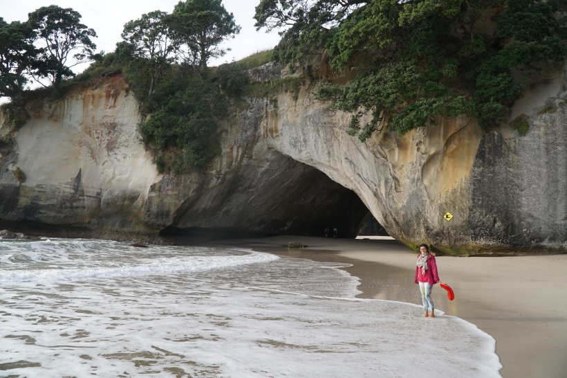 For some, it´s a dream come true. For me, Cathredral Cove will always be the place where I sank my iphone.