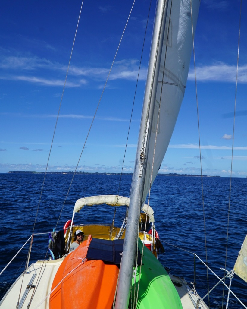 Sailing again, that´s all we have in mind at the moment.